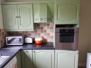 kitchen spraying of house in dublin