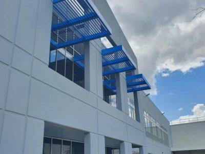 painting aluminum building dublin